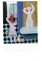 Cpm - Art Naif Anatole Jakovsky - Bruno Epple - Femmes Au Bain PEIGNE COIFFURE CHAT Femme Nue Douchette Miroir - Paintings