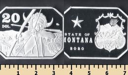Montana 20 Dollars 2020 - Non Classificati