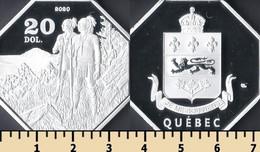 Quebec 20 Dollars 2020 - Non Classificati