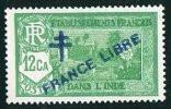 INDE Surcharge »Croix De Lorraine Et FRANCE LIBRE»  Maury  204IIa ** - Unused Stamps