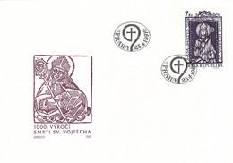 Ceska Republika FDC 1997 Stamp Traditions (T22-29) - FDC