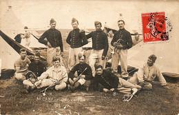 Musiciens D'infanterie Au Camp De Bois-l'Evêque, 1919 - Regimientos