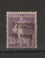 Levant 1920 N° 40 Neuf Charn. MH - Unused Stamps
