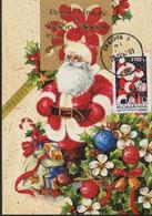 Pere NOEL   Carte Maximum - Roumanie / Romania - Noël