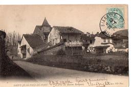 SAINT-JEAN-PIED-DE-PORT  - Vue Prise Des Anciens Remparts - Saint Jean Pied De Port