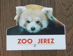 AUTOCOLLANT  STICKER - ZOO JEREZ - PARC ZOOLOGIQUE JARDIN BOTANIQUE ALBERTO DURAN - ANDALOUSIE ESPAGNE - Stickers