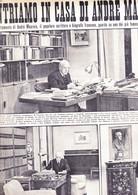 (pagine-pages)ANDRE' MAUROIS   Oggi1955/03. - Altri