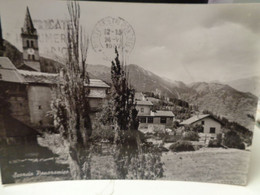 Cartolina Chateau Beaulard Prov Torino Val Di Susa Scorcio Panoramico 1962 - Other