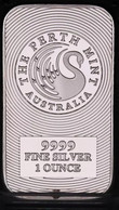 BARRE CYGNE FINE SILVER 999 / 1oz / AUSTRALIA THE PERTH MINT 31g ENVIRON NEUVE - Ohne Zuordnung