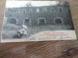 Florenville Conque Le Vieux Château Avec Ses Remarquables Fenêtres Dissemblables - Florenville