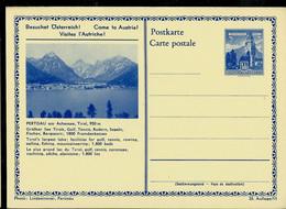 Carte Illustrée Neuve N° 382 II. 35/11  -- PERTISAU - Tirol - 950 M - Golf - Tennis - Pêche - Alpinisme - Ganzsachen