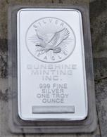 BARRE AIGLE EAGLE FINE SILVER 999 / 1oz / 1 ONCE TROY 32g ENVIRON NEUVE - Ohne Zuordnung