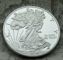 Pièce LIBERTY EAGLES ONE DOLLAR 2014 / 1 Oz TROY 31 G Argent Fine Silver Neuve - Sin Clasificación