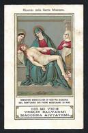 Santino/holycard: B.V. ADDOLORATA - Santuario Di Rho - E- PR - Cromolitografia  - Mm. 70 X 110 - Religione & Esoterismo