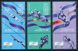 Israel.2021.Summer Olympic Games 2021.Tokyo.3 V. ** . - Eté 2020 : Tokyo