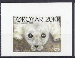 Faroer 2020 Foca / Dänemark Färöer 2020 Mi-Nr. 977 Robbe - Faroe Islands