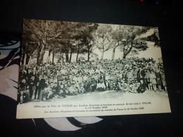 Cartes Postale Var Alsace Lorraine Offert Par La Ville De Toulon Aux Ecoliers Alsaciens Et Lorrains Visite De Toulon - Ricevimenti