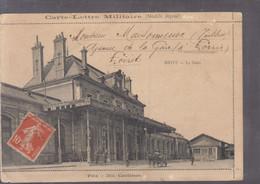 Carte Lettre Militaire : Brive La Gare  ( Petit Défaut)  ///  Ref. Juil. 21 - War 1914-18