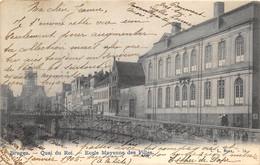 Bruges - Quai Du Roi -  Ecole Moyenne Des Filles - Brugge