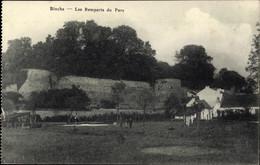 CPA Binche Wallonien Hennegau, Les Remparts Du Parc - Andere
