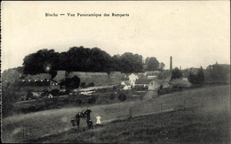 CPA Binche Wallonien Hennegau, Vue Panoramique Des Remparts - Andere