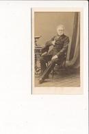 CDV Photo D' Homme Notable à Identifier ( Photographe DISDERI 65 Rue De Siam à BREST 29  ) - Antiche (ante 1900)