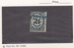 1873 US Scott # O54 Post Office Department Official 24c Used  Catalogue $25.00.Nick On Upper Side - Officials