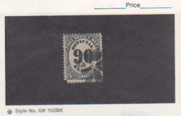 1873 US Scott # O56 Post Office Department Official 90c Used Catalogue $25.00 - Officials