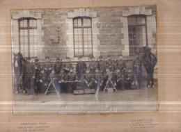 50 - GRANVILLE - Photo Militaires 2ème Section De Mitrailleuses - (photographe : FRANCIS, Phot., 1 Route De Coutances) - Granville
