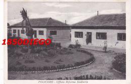 POLICORO - UFFICIO DELLA RIFORMA AGRARIA F/GRANDE VIAGGIATA  1955 ANIMAZIONE - Matera