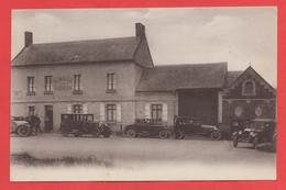 80 - Doullens - Carte Du Café Lieu Dit Du Bon Air - Doullens