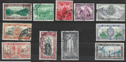 New Zealand 1946  SG 667-76  Peace Set Fine Used - Used Stamps