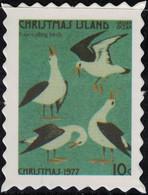 Christmas Island Timbre Fictif Autocollant Four Calling Birds Quatre Oiseaux Scrapbooking - Scrapbooking