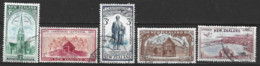 New Zealand 1950  SG 703-7  Canterbury  Fine Used - Used Stamps