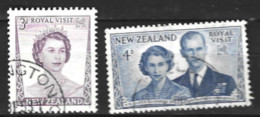 New Zealand  1953 SG 721-3  Royal Visit  Fine Used - Used Stamps