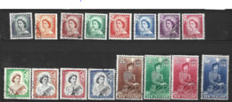 New Zealand  1953 SG 726-36 Definitives   Fine Used - Used Stamps