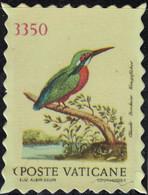 Vatican Timbre Fictif Autocollant Oiseau Alcedo Atthis Martin Pêcheur D'Europe Scrapbooking - Scrapbooking