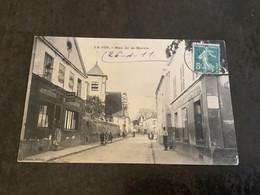 Carte Postale Le Pin Rue De La Mairie - Autres Communes