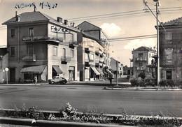 """2222""""LEUMANN(TORINO) VIA CEFALONIA E VIA FABBRICHETTA DA CORSO FRANCIA """"anno 1961ANIMATA FIAT 600 - Autres Villes"""