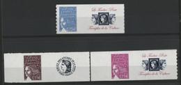 TP Personnalisés N° 3729B + 3729C + 3729D Marianne De Luquet Avec Vignette, Neufs ** (MNH). TB - Personalized Stamps