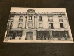 Carte Postale Le Perray Hôtel Des Postes - Le Perray En Yvelines