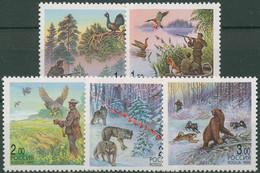 Russland 1999 Tiere Jagd Wilderei 699/03 Postfrisch - Ongebruikt