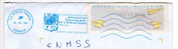 Flamme NEOPOST IJO85 Ile De La Réunion St Denis Messagerie CTC Association Philatélique Océan Indien ROC 19595A Blason - Mechanische Stempels (reclame)