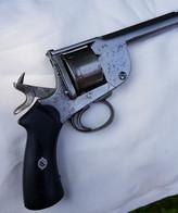 Rare Gros Revolver En 450 à Système Levaux - Armi Da Collezione