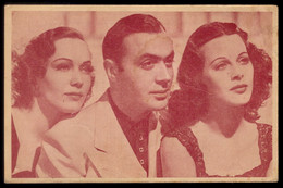 Postal Publicitario Cinema SONORO FILME No Teatro São Luiz / LISBOA Portugal. Movie ALGIERS Sigrid Gurie / Charles Boyer - Lisboa