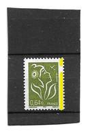 Lamouche 0.64 € Olive Type I YT 3756e Avec Phospho à Cheval . Superbe , Voir Le Scan . Cote YT : 8 € . - Variedades: 2000-09 Nuevos