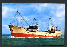 """Photo-carte Moderne - Le Cargo-caboteur """"Centurity, Construit En 1956"""" Compagnie F.T. Everard & Sons Ltd à Londres - Commercio"""