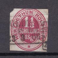 Schleswig-Holstein - 1865 - Michel Nr. 23 R3 - Gestempelt - 55 Euro - Schleswig-Holstein
