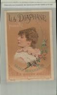Chromo PUBLICITE- La Diaphane, Poudre De Riz - Sarah Bernhardt Parfumerie REVERCHON  PARIS ( 2021 Juillet CHR 417 ) - Altri