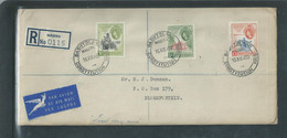 Basutoland, EIIR, National Council Set, BASUTOLAND CONSTITUTION  MASERU 15 XII 59 C.d.s. > BLOEMFONTEIN - 1933-1964 Colonia Britannica